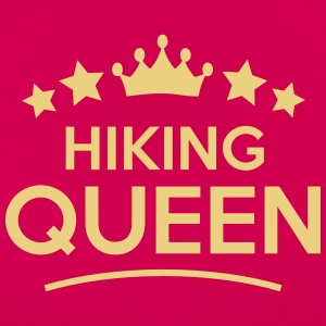 hiking queen stars - Women's T-Shirt
