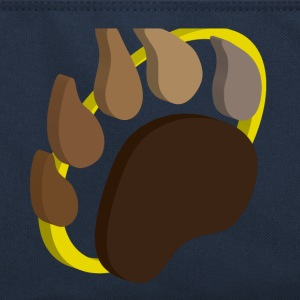 Pawprint Retro Bag - Retro Bag