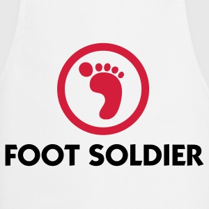 I am a foot soldier  Aprons - Cooking Apron