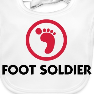 I am a foot soldier Accessories - Baby Organic Bib