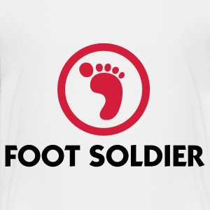 I am a foot soldier Shirts - Teenage Premium T-Shirt