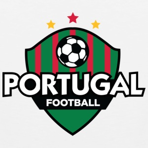 Football crest of Portugal Tank Tops - Men's Premium Tank Top