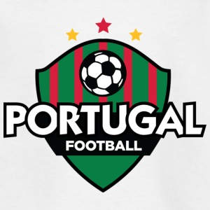 Football crête du Portugal Tee shirts - T-shirt Enfant