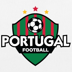 Football crest of Portugal Bags & Backpacks - EarthPositive Tote Bag