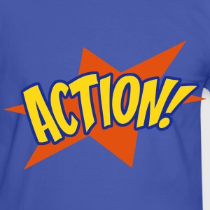 action 01 Tee shirts - T-shirt contraste Homme