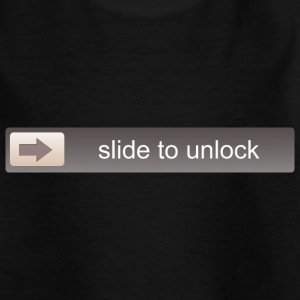 SLIDE TO UNLOCK -  ENTSPERRFUNKTION Shirts - Teenage T-shirt