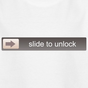 SLIDE TO UNLOCK -  ENTSPERRFUNKTION Skjorter - T-skjorte for barn
