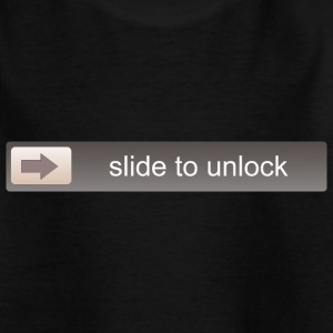 SLIDE TO UNLOCK -  ENTSPERRFUNKTION Shirts - Kids' T-Shirt