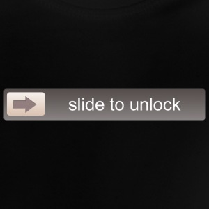 SLIDE TO UNLOCK -  ENTSPERRFUNKTION Shirts - Baby T-Shirt