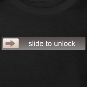 SLIDE TO UNLOCK  Tee shirts - T-shirt Bio Enfant