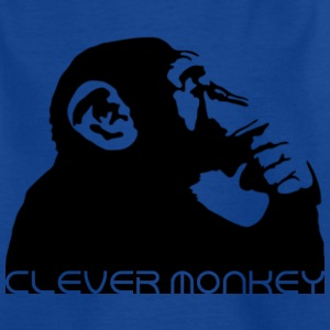 clever monkey Shirts - Kids' T-Shirt