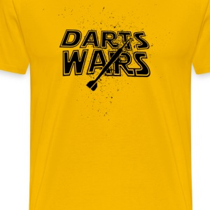 Darts Wars - T-shirt Premium Homme