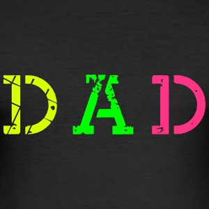 dad_vec_3 en T-Shirts - Men's Slim Fit T-Shirt
