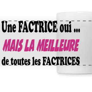 La meilleure des factrices 222 Mugs & Drinkware - Panoramic Mug