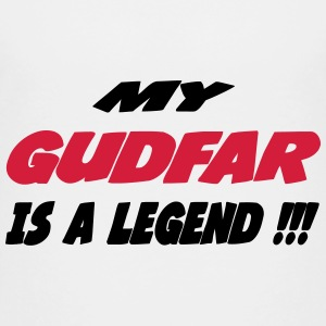 My gudfar is a legend 333 Shirts - Teenage Premium T-Shirt
