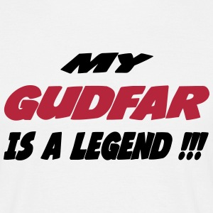 My gudfar is a legend 333 T-Shirts - Men's T-Shirt