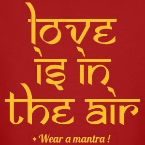 LOVE IS IN THE AIR - T-shirt ecologica da uomo