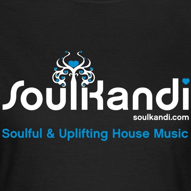 Womens Top with White & Light Blue Soul Kandi Tree Logo (Choice Of Colours)