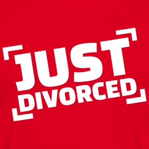 Just divorced T-Shirts - Männer T-Shirt