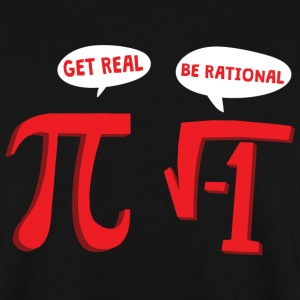 MATHS GET REAL - MATHE IS SCHEISSE Pullover & Hoodies - Männer Pullover