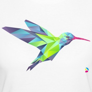 AD Geometric Hummingbird T-Shirts - Frauen Bio-T-Shirt
