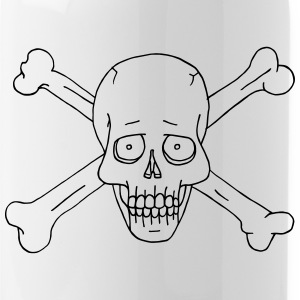 Jolly Roger Scull Mugs & Drinkware - Water Bottle