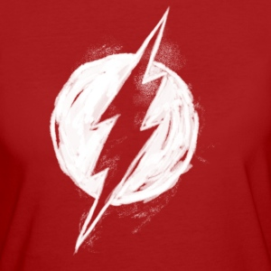 Flash Logo Painted Frauen T-Shirt - Frauen Bio-T-Shirt