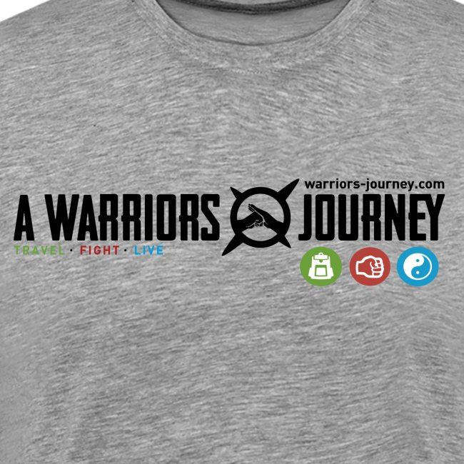 A Warriors Journey T-Shirt Herren