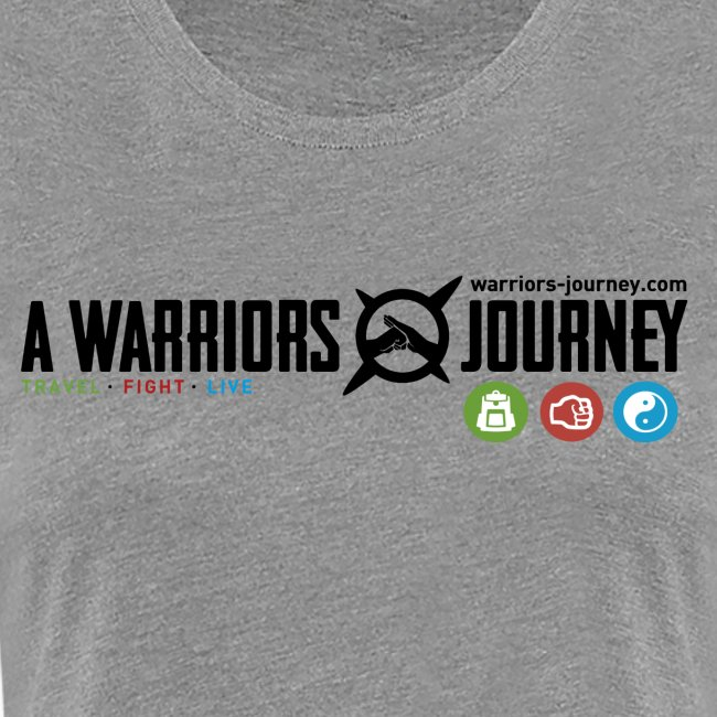 A Warriors Journey T-Shirt Damen