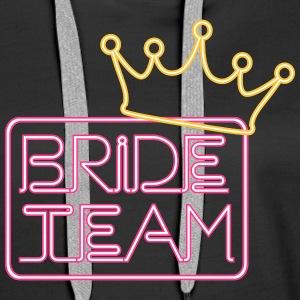 Bride Team  Sweat-shirts - Sweat-shirt à capuche Premium pour femmes