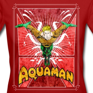 Aquaman Frauen T-Shirt - Frauen Bio-T-Shirt