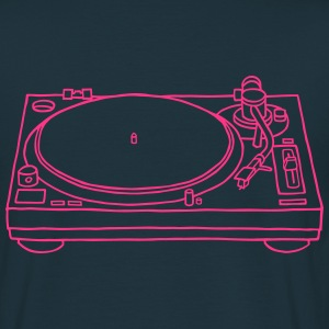 Platine tourne-disques Tee shirts - T-shirt Homme