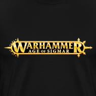 Motiv ~ Warhammer Age of Sigmar Logo - Premium T- Shirt