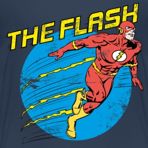 The Flash Comic Teenager T-Shirt - Teenager Premium T-Shirt