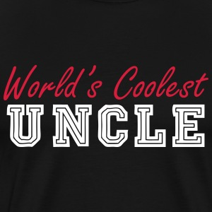 world's coolest uncle T-Shirts - Men's Premium T-Shirt