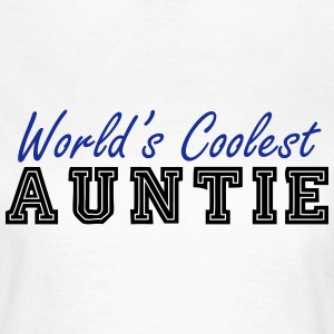 world's coolest auntie T-Shirts - Women's T-Shirt