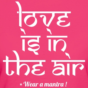 LOVE IS IN THE AIR - T-shirt ecologica da donna