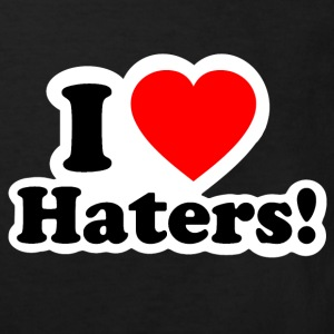 I LOVE HATERS - I LOVE ENVY Shirts - Kinderen Bio-T-shirt