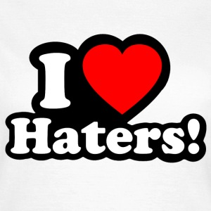 I LOVE HATERS - I LOVE ENVY T-skjorter - T-skjorte for kvinner
