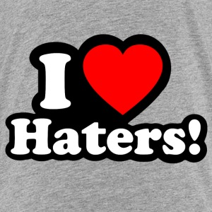 I LOVE HATERS - I LOVE ENVY Shirts - Kids' Premium T-Shirt