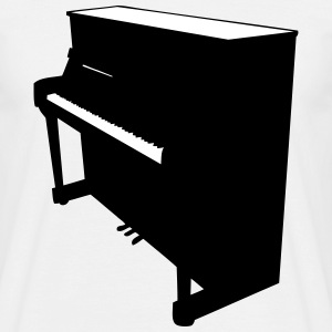 Piano T-skjorter - T-skjorte for menn