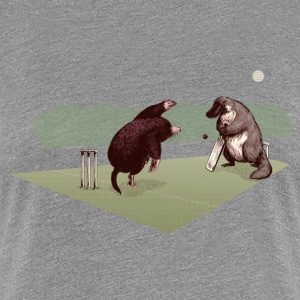 Mole and Platypus cricket Tee shirts - T-shirt Premium Femme