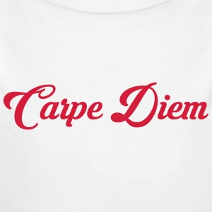 Carpe Diem / Quote / Funny / Humor / Citation Baby Bodysuits - Longlseeve Baby Bodysuit