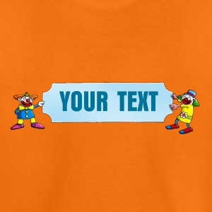 clowns_and_names_062015_blanko_a T-Shirts - Kinder Premium T-Shirt
