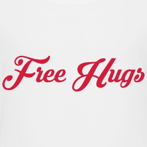 Free Hugs / Baby / Bébé / Quote / Funny / Humor Shirts - Teenager Premium T-shirt