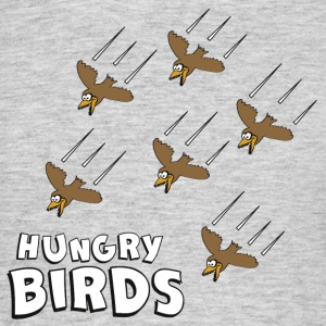 hungry birds - Männer T-Shirt
