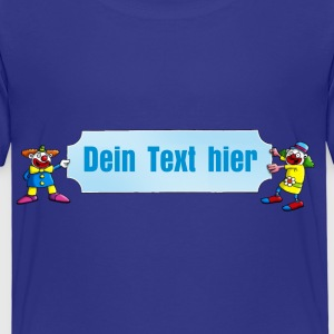 clowns_and_names_062015_blanko_c T-Shirts - Kinder Premium T-Shirt