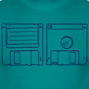 Floppy Disk T-Shirts - Men's T-Shirt