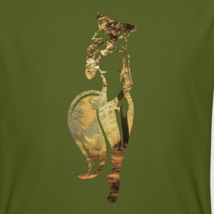 sexy fox in nature T-Shirts - Men's Organic T-shirt