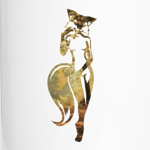 sexy fox in nature Mugs & Drinkware - Travel Mug
